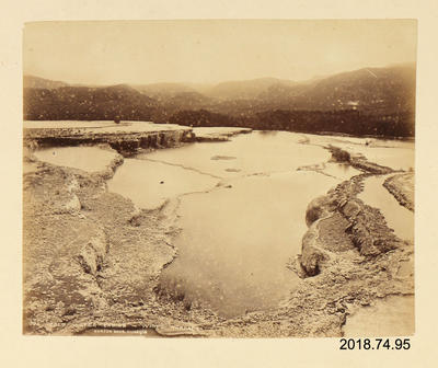 Photograph: Cold Water Basins, White Terrace