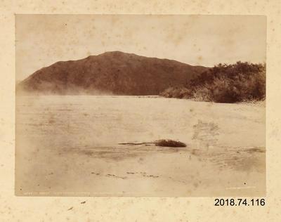 Photograph: Terrace Formation (Kotore Kairamua), Wai-o-tapu Valley; 2018.74.116