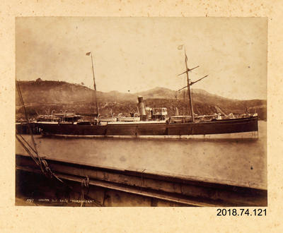 Photograph: Union S S Co's Tarawera