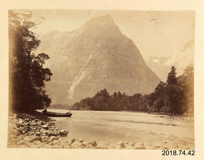 Photograph: On the Arthur River - Milford Sound