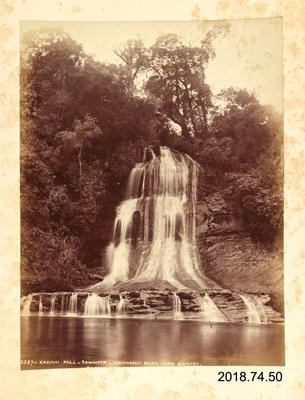 Photograph: Kakahi Fall - Tawhata - Wanganui River - King Country