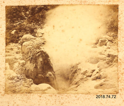 Photograph: A Geyser - Whatapoko