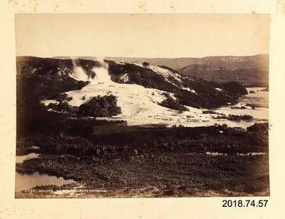 Photograph: White Terrace - Rotomahana