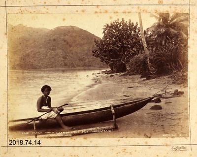 Photograph: Pango Pango - Samoa - The Fair 'Sauimatani'