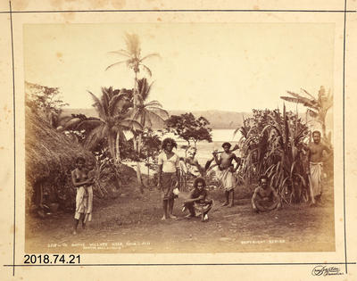 Photograph - In Native Village Near Suva - Fiji