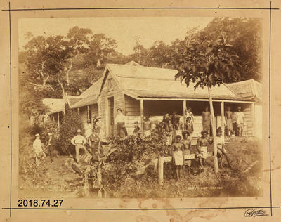Photograph: The Hospital - Levuka - Fiji