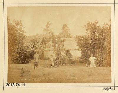 Photograph: Tongan Village - Neiafu - Vavau