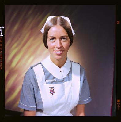 Negative: Miss Wilson Nurse Portrait