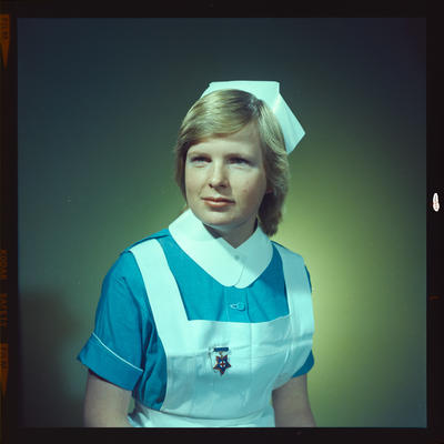 Negative: Ms Lawson or Larson Nurse Portrait