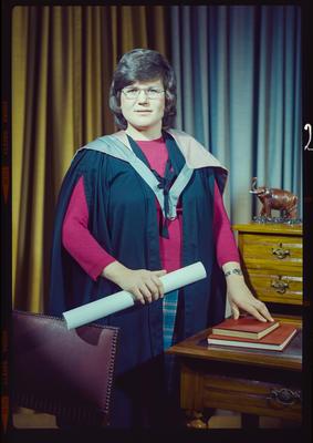 Negative: Miss J. Baxter Graduate