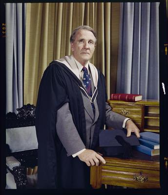 Negative: Mr C. F. S. Caldwell Portrait