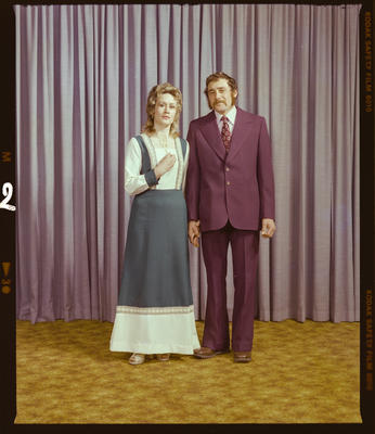 Negative: Mr and Mrs Day Portrait