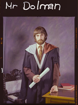 Negative: Mr Dolman Graduate
