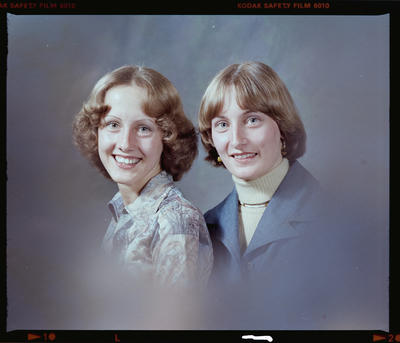 Negative: Misses D. and S. Cuzens Portrait