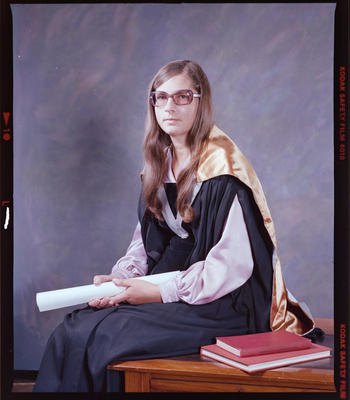 Negative: Mrs J. Denby Graduate