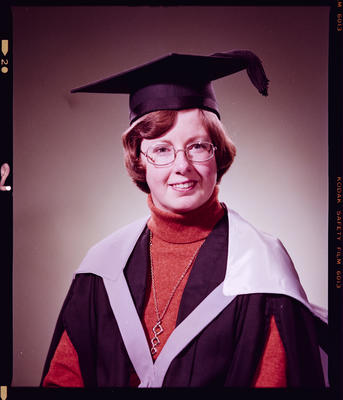 Negative: Miss Fyfe Graduate