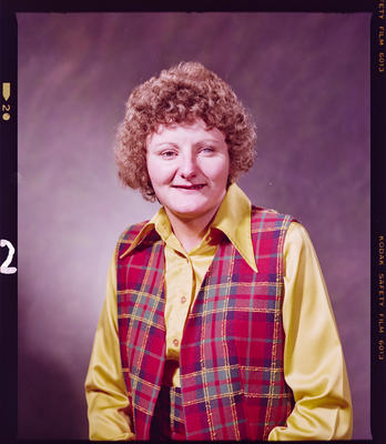 Negative: Miss Gibbs Portrait