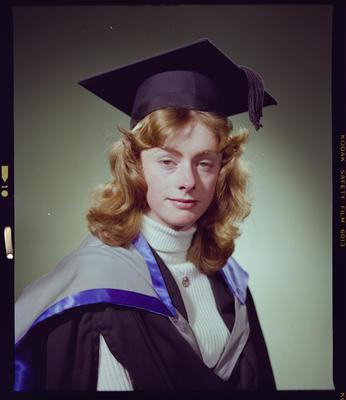 Negative: Miss L. M. Hill Graduate