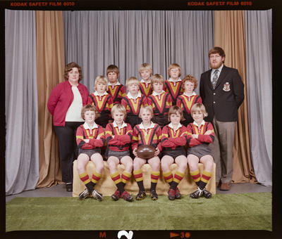 Negative: Halswell Rugby League 8yos 1976