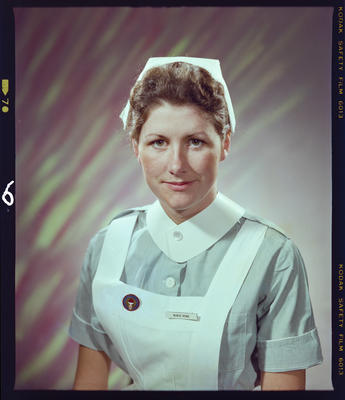 Negative: Miss D. L. Howe Nurse Portrait