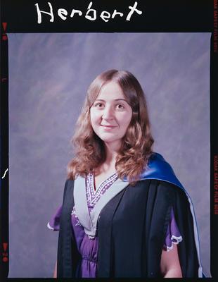 Negative: Miss D. Herbert Graduate