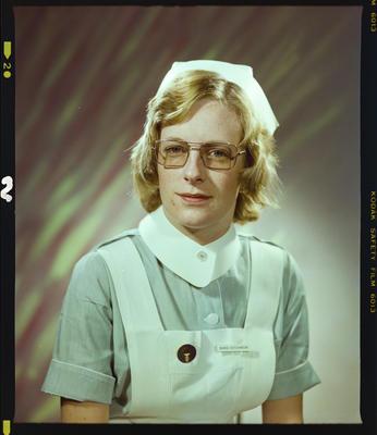 Negative: Miss R. J. Hutchinson Nurse Portrait