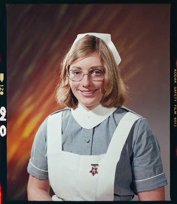 Negative: Miss K. Johnston Nurse Portrait