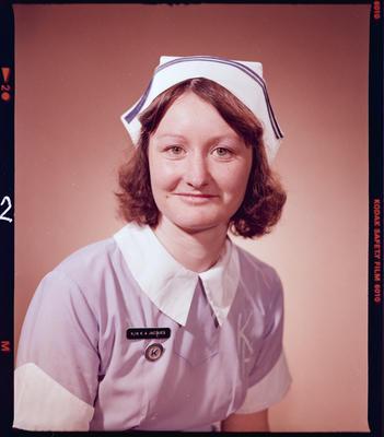 Negative: Miss K. Jacques Nurse Portrait