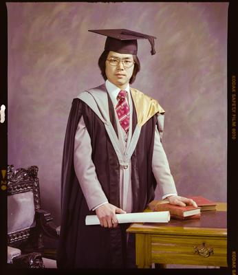 Negative: Mr P. Lou Graduate