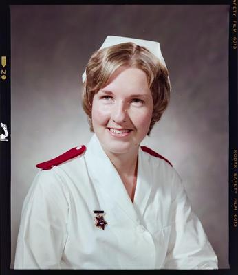 Negative: Miss M Lindsay Nurse Portrait