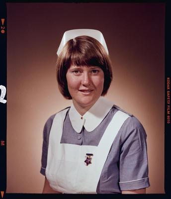 Negative: Miss E. H. Kidd Nurse Portrait