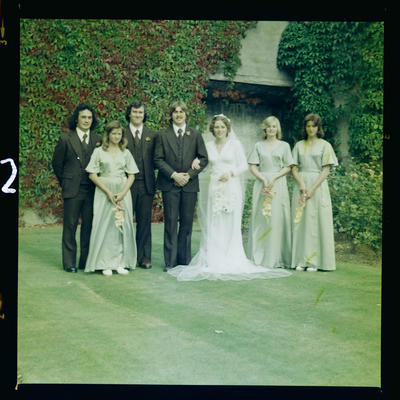Negative: Paton-Boyd Wedding