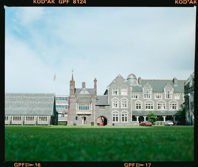 Negative: Christ's College Buildings