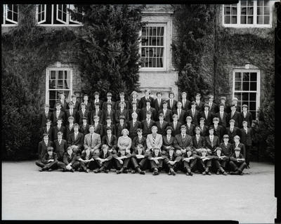 Negative: Christ's College Richards House 1976