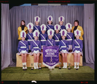 Negative: Steelite Kilties Marching Team 1976