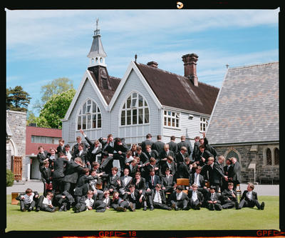 Negative: Christ's College Condell's House Group 1990