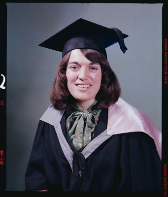 Negative: Mrs Sewell Graduate