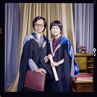 Negative: Mr Wong Srikasam and Unnamed Woman Graduates