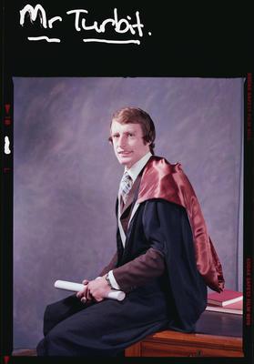 Negative: Mr Turbit Graduate