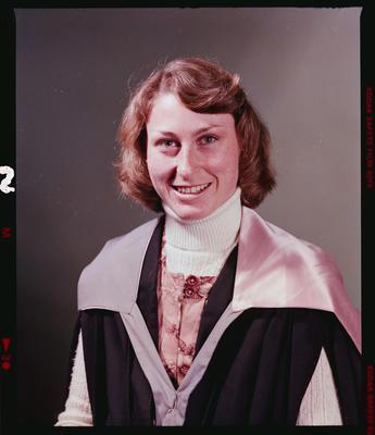 Negative: Ms P. J. Wilson Graduate
