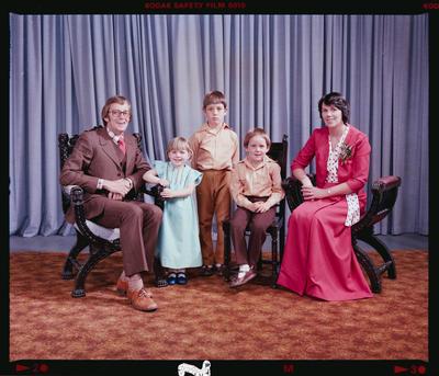 Negative: Weaver Family Portrait