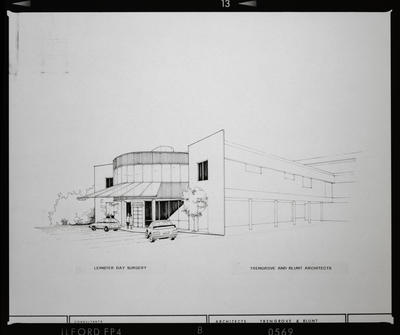Negative: Leinster Day Surgery Building Architectural Drawing