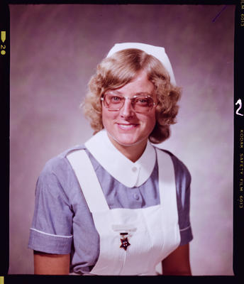 Negative: Miss Barrell Nurse Portrait