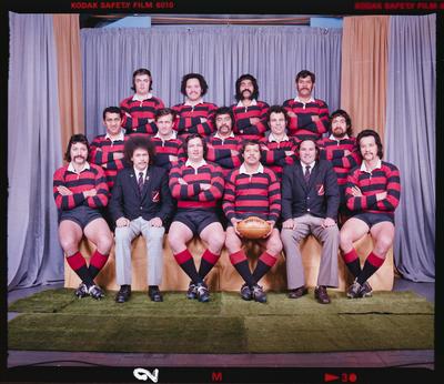 Negative: Christchurch Transport Rugby Team 1976