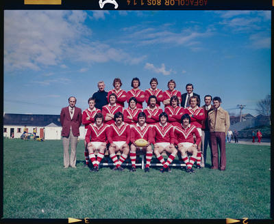 Negative: Canterbury Rugby Team 1976
