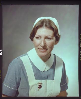 Negative: Miss J. Dickson Nurse Portrait