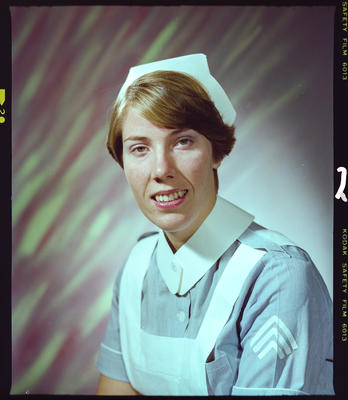 Negative: Miss S. King Nurse Portrait