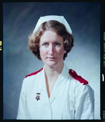 Negative: Miss C. M. Lash Nurse Portrait