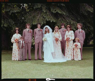 Negative: Milligan-McAlister Wedding