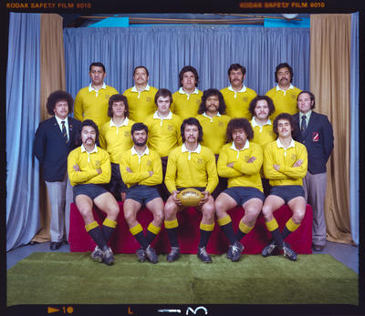 Negative: New Brighton Tramways Rugby Team 1976